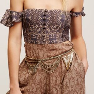 Free People Chainmail belt